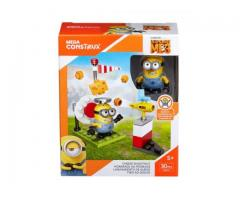 MINIONS - DESPICABLE ME 3  - CHEESE SHOOTOUT - MEGA CONSTRUX