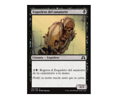 Esqueleto del sanatorio - NO FOIL - Shadows over Innistrad - NUEVO/MINT - MTG -133