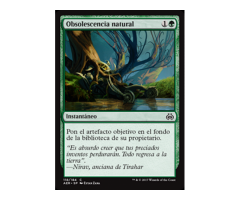 Obsolescencia natural - FOIL - Aether Revolt - NUEVO/MINT- MTG - 118