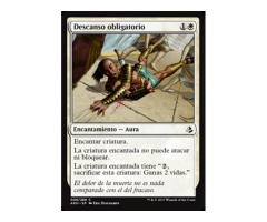 Descanso obligatorio - NO FOIL - Amonkhet - NUEVO/MINT - MTG - 9