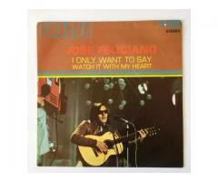 JOSE FELICIANO - I ONLY WANT TO SAY (Gethsemane) / WATCH IT WITH MY HEART