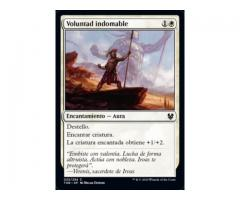 Voluntad indomable - Theros Beyond Death - NUEVO/MINT - MTG - 025