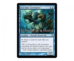 Sea Gate Loremaster - Zendikar - EX/NM - MTG - 063