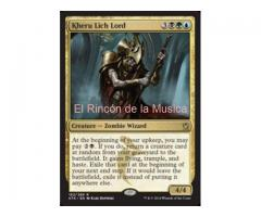 Kheru Lich Lord - Khans of Tarkir - EX/NM - MTG - 182