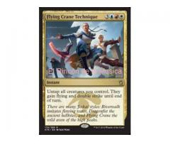 Flying Crane Technique - Khans of Tarkir - EX/NM - MTG - 176