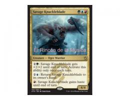 Savage Knuckleblade - Khans of Tarkir - EX/NM - MTG - 197