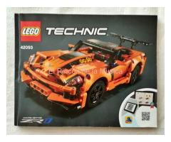 LEGO TECHNIC - MANUAL DE INSTRUCCIONES - 42093 CORVETTE ZR1 - (MB++/VG++)
