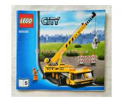 LEGO CITY - MANUAL DE INSTRUCCIONES - 60026 - Nº5 - (MB+++/VG+++)