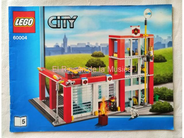 LEGO CITY - MANUAL DE INSTRUCCIONES - 60004 - Nº5 - (MB+/VG+)