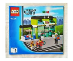 LEGO CITY - MANUAL DE INSTRUCCIONES - 60026 - Nº3 - (NM/EX)
