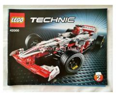 LEGO TECHNIC - MANUAL DE INSTRUCCIONES - 42000 - Nº2 (EX/NM)