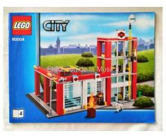 LEGO CITY - MANUAL DE INSTRUCCIONES - 60004 - Nº4 - (MB+++/VG+++)