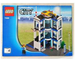 LEGO CITY - MANUAL DE INSTRUCCIONES - 7498 - Nº4 - (EX/NM)