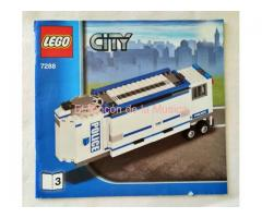 LEGO CITY - MANUAL DE INSTRUCCIONES - 7288 - Nº3 - (MB+++/VG+++)