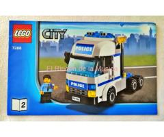 LEGO CITY - MANUAL DE INSTRUCCIONES - 7288 - Nº2 - (MB+++/VG+++)