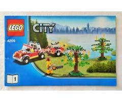 LEGO CITY - MANUAL DE INSTRUCCIONES - 4209 - Nº1 - (MB++/VG++)