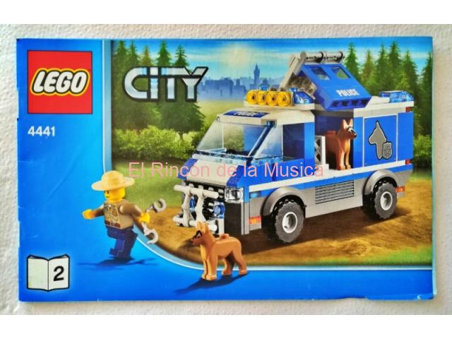 LEGO CITY - MANUAL DE INSTRUCCIONES - 4441 - Nº2 - (MB+/VG+)