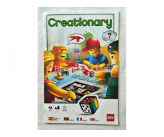 CREATIONARY - LEGO - MANUAL DE INSTRUCCIONES - (MB+++/VG+++)