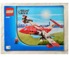 LEGO  CITY - MANUAL DE INSTRUCCIONES - 4209 - Nº2 - (EX/NM)