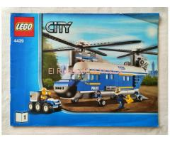 LEGO CITY - MANUAL DE INSTRUCCIONES - 4439 - Nº1 - (MB+/VG+)