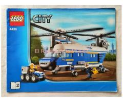 LEGO CITY - MANUAL DE INSTRUCCIONES - 4439 - Nº2 - (MB+++/VG+++)