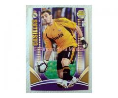 IKER CASILLAS FERNÁNDEZ - MEGA CRACKS 09/10 - 128- SERIE ORO - EX/NM