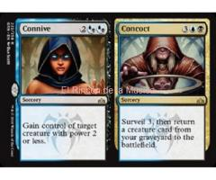 Connive // Concoct - Guilds of Ravnica - NUEVO/MINT - MTG - 222A/B