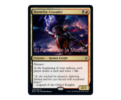 Stormfist Crusader - Throne of Eldraine - NUEVO/MINT - MTG - 203
