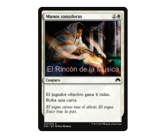 Manos sanadoras - Magic Origins - NUEVO/MINT - MTG - 017