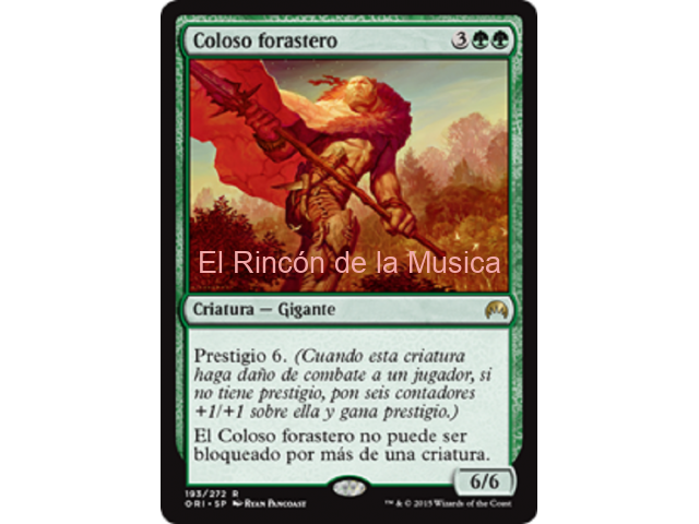 Coloso forastero - Magic Origins - NUEVO/MINT - MTG - 193