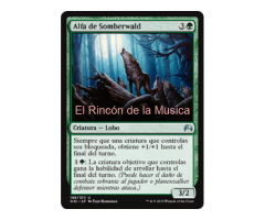 Alfa de Somberwald - Magic Origins - NUEVO/MINT - MTG - 198