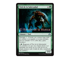 Trol de la Subciudad -  Magic Origins - NUEVO/MINT - MTG  - 202