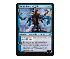 Narset, Parter of Veils - War of the Spark - NUEVO/MINT - MTG - 061