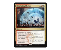 Deafening Clarion - Guilds of Ravnica - NUEVO/MINT - MTG - 165