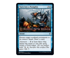 Turn into a Pumpkin - Throne of Eldraine - NUEVO/MINT - MTG - 069