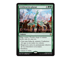 Celebración planar - War of the Spark - NUEVO/MINT - MTG - 172