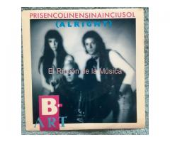 B-ART - PRISENCOLINENSINAINCIUSOL (Alright)  / THE MYSTIC WARRIOR