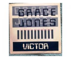 GRACE JONES - VICTOR SHOULD HAVE BEEN A JAZZ MUSICIAN / single sided promo