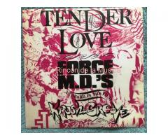 FORCE M.D.'S - TENDER LOVE / TENDER LOVE instrumental