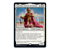 Taranika, veterana akroniense - Theros Beyond Death - NUEVO/MINT - MTG - 039