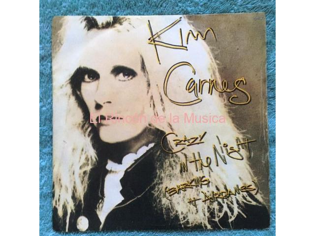 KIM CARNES - CRAZY IN THE NIGHT (Barking at Airplanes) / OLIVER (Voice on the Radio)