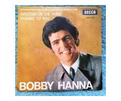 BOBBY HANNA - WRITTEN ON THE WIND / THANKS TO YOU