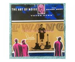 THE ART OF NOISE featuring DUANE EDDY - PETER GUNN / SOMETHING ALWAYS HAPPENS