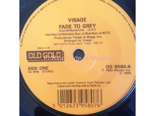 VISAGE - FADE TO GREY /  MIND OF A TOY