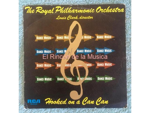 THE ROYAL PHILHARMONIC ORCHESTRA Louis Clark, director - HOOKED ON A CAN CAN / HOOKED ON ROMANCE