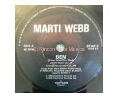 MARTI WEBB - BEN / NOTHING EVER CHANGES
