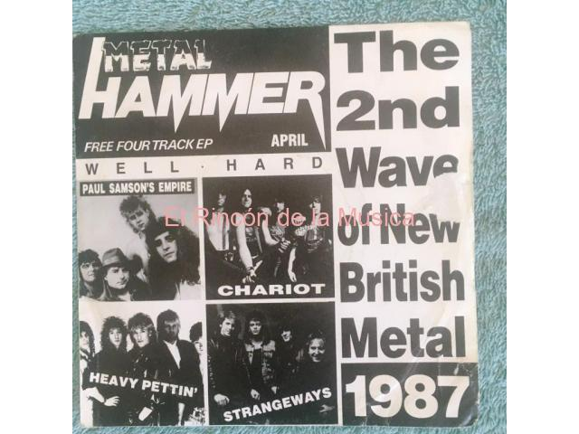 METAL HAMMER - THE 2nd. WAVE OF NEW BRITISH METAL