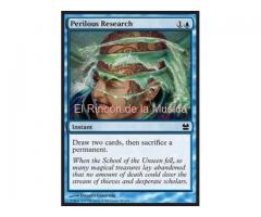 Perilous Research - Modern Masters - NUEVO/MINT- MTG - 58