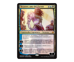 Tezzeret, amo del Puente - War of the Spark - NUEVO/MINT- MTG - 275
