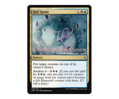 Roil Spout -  Battle for Zendikar - NUEVO/MINT- MTG  - 219